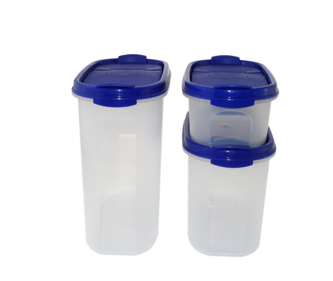 Tupperware Eidgenossen 500 ml + 1,1 l + 1,7 l
