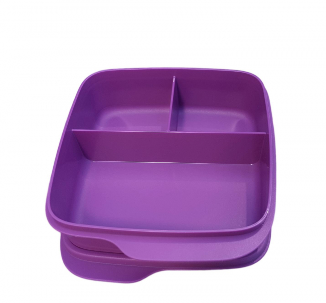 Tupperware Clevere Pause Lunchbox lila