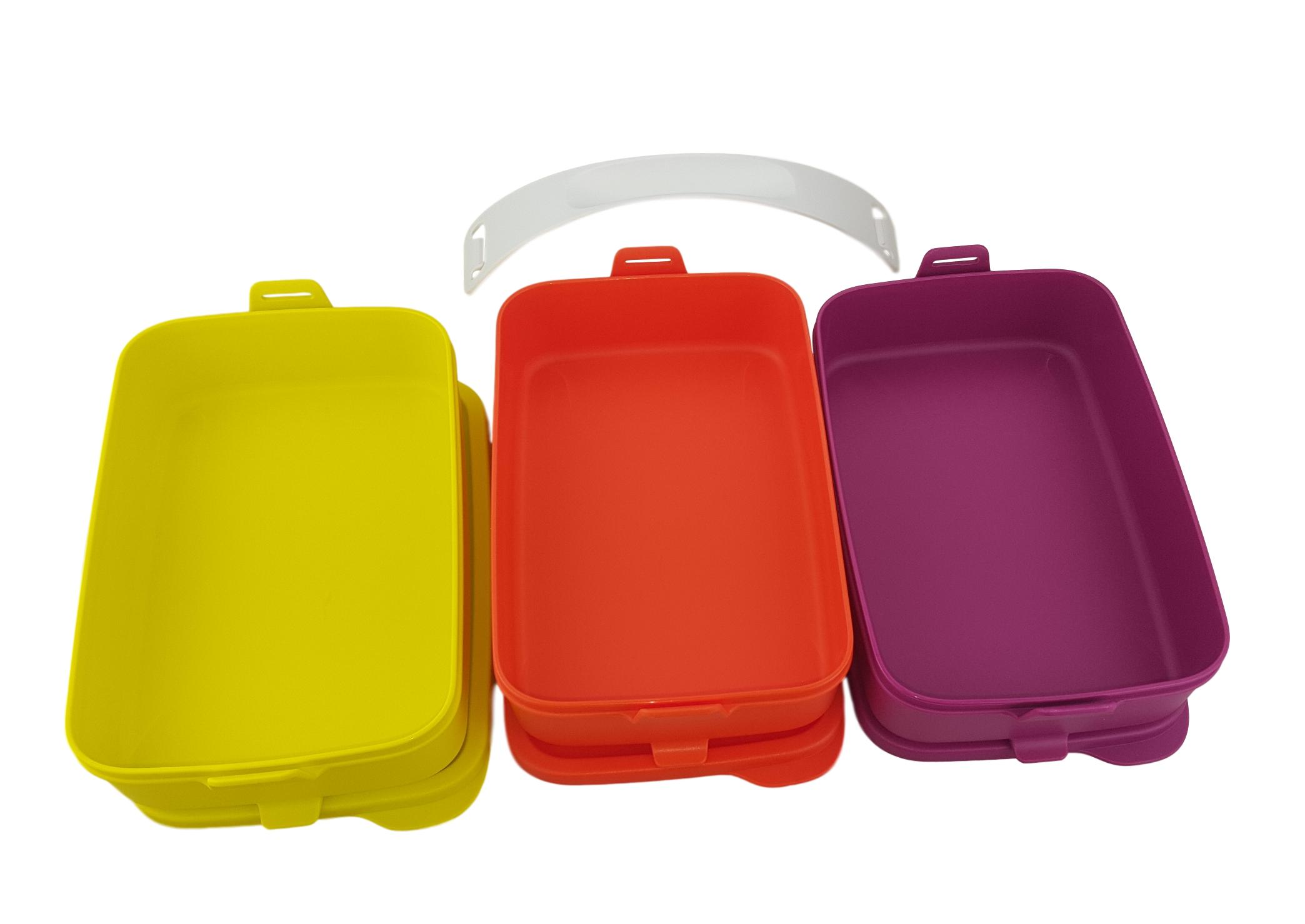 Kühlschrank Dose : Tupperware tupperware stapel und klick picknick dosen set