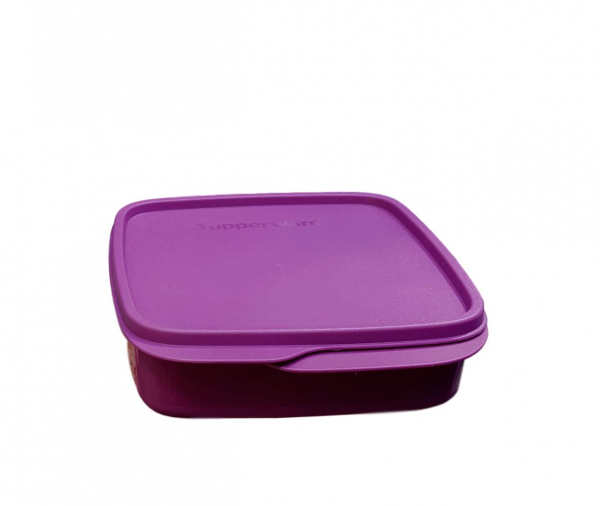 Tupperware brotbox lila